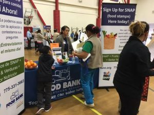 Residents in 89502 attend a family health festival. Photo courtesy of TMHC.